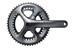 Shimano Ultegra FC-6800 Kurbelgarnitur 2-fach 50/34 Zähne grau
